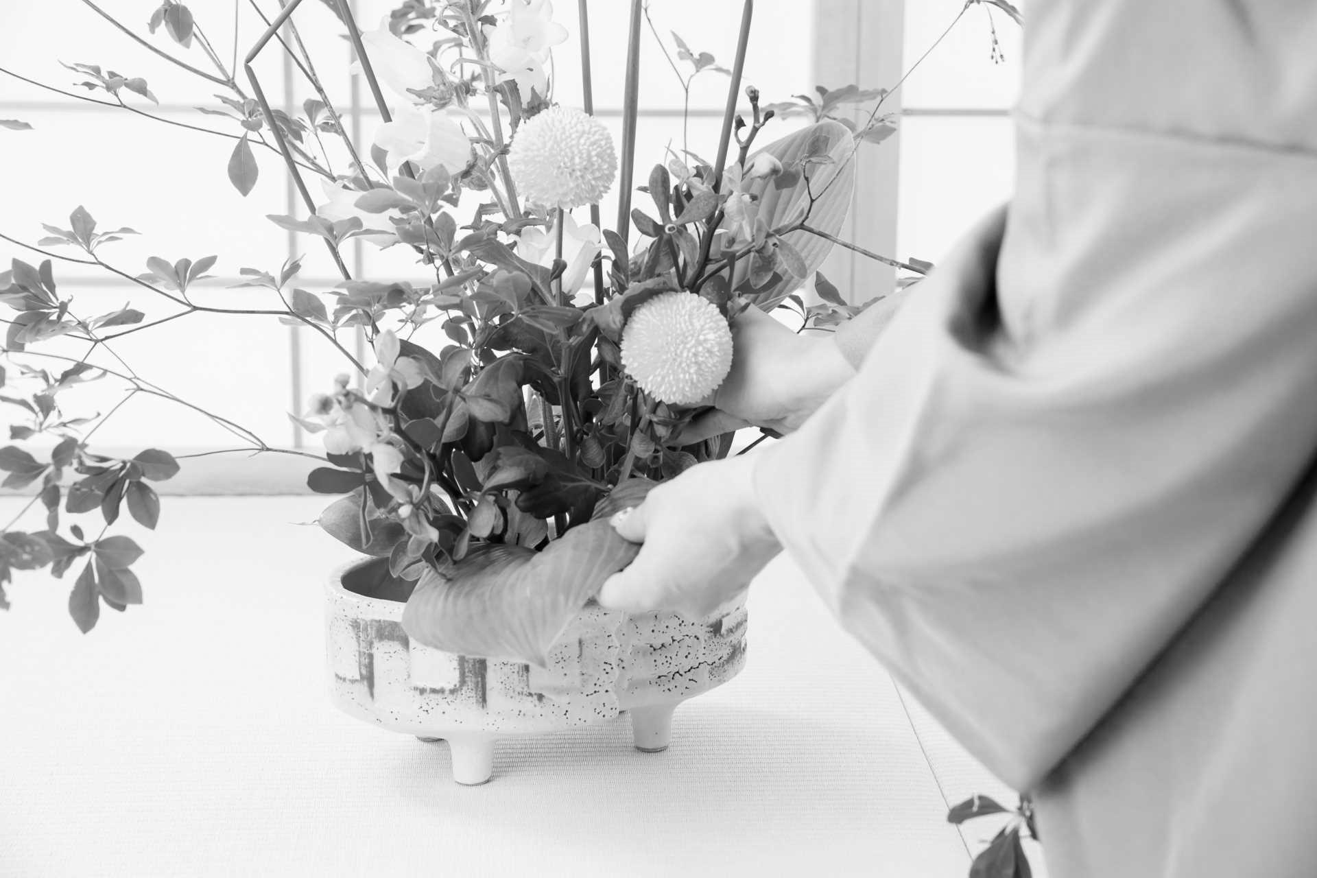 Ikebana, l'arte della composizione floreale giapponese