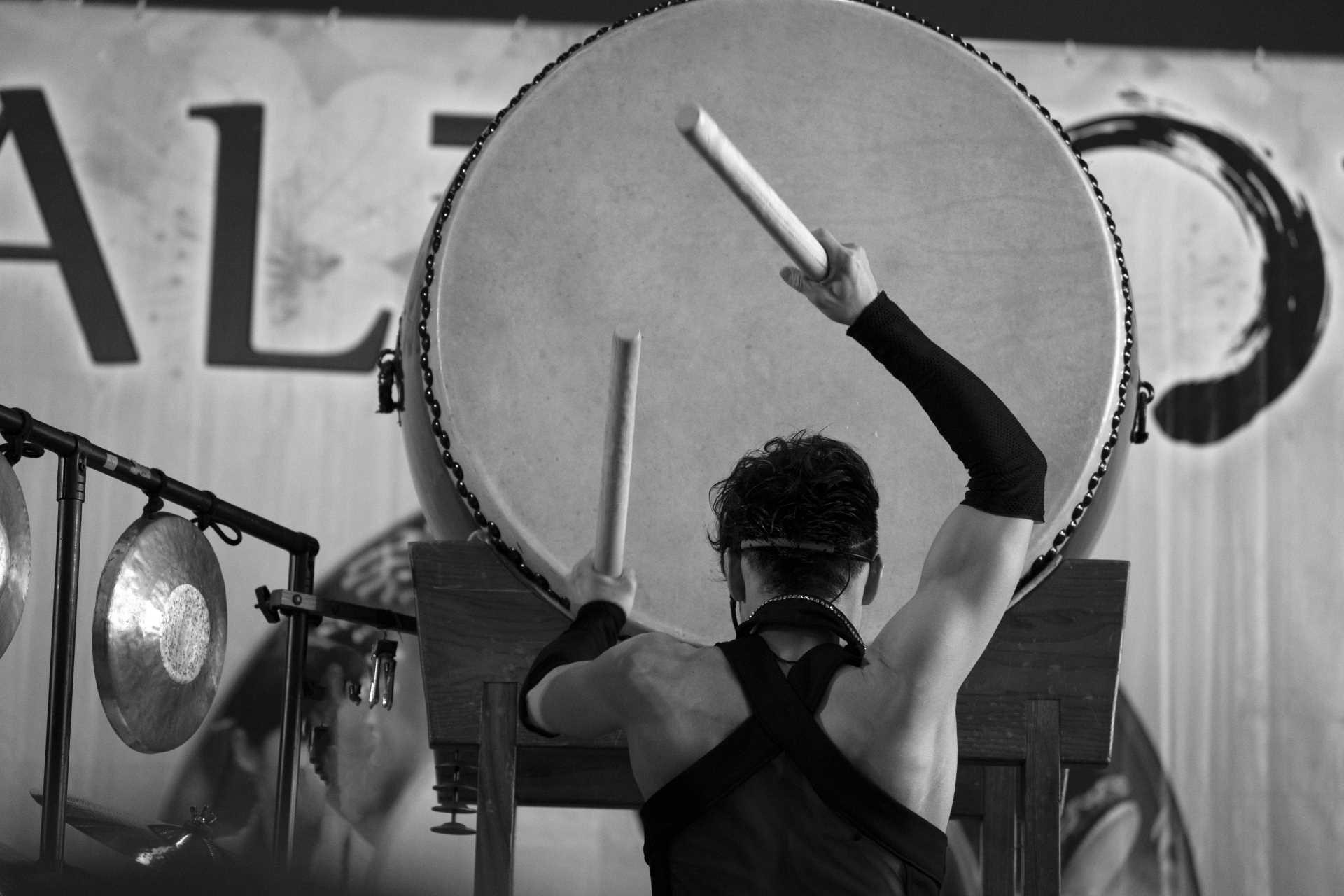 Taiko, il tamburo giapponese