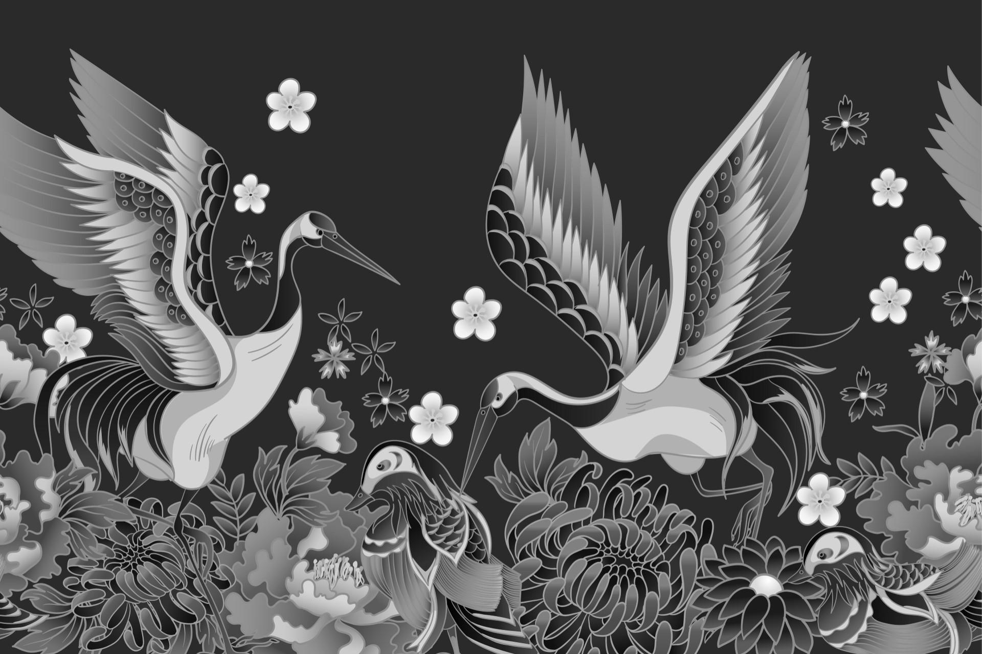 Yuzen, la pittura giapponese su stoffa